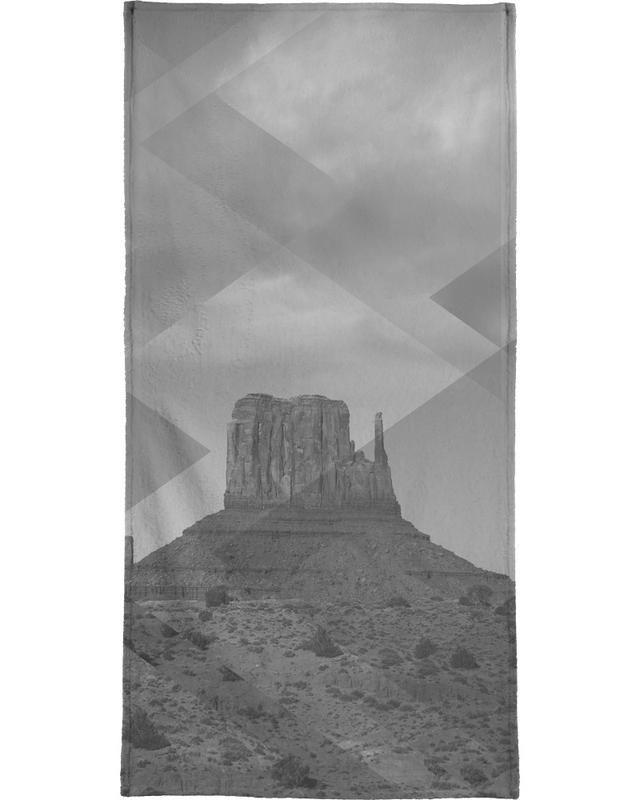 Scattered 4 Monument Valley Beach Towel