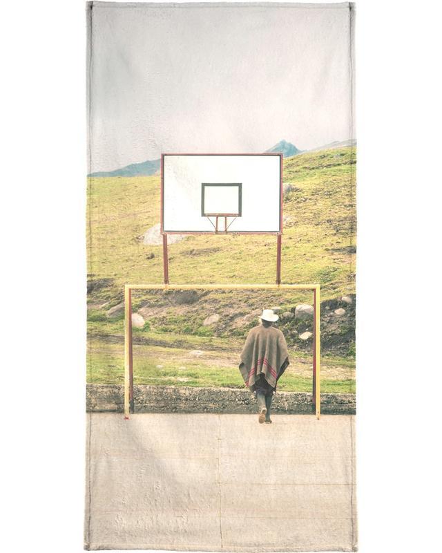 Basket-ball, Streetball Courts 2 El Cocuy Colombia serviette de plage