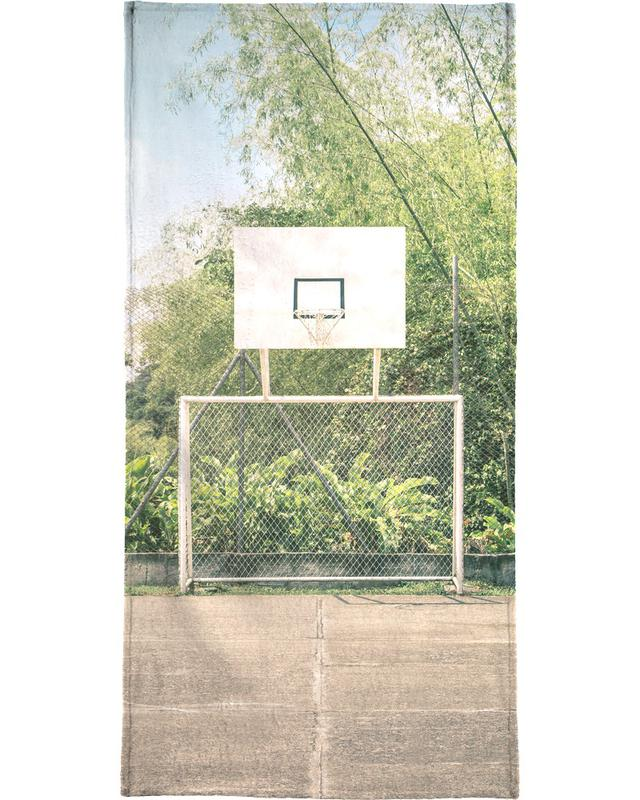 Streetball Courts 2 Manizales Colombia -Handtuch