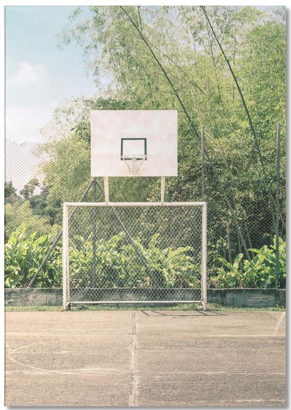 Streetball Courts 2 Manizales Colombia -Notizblock