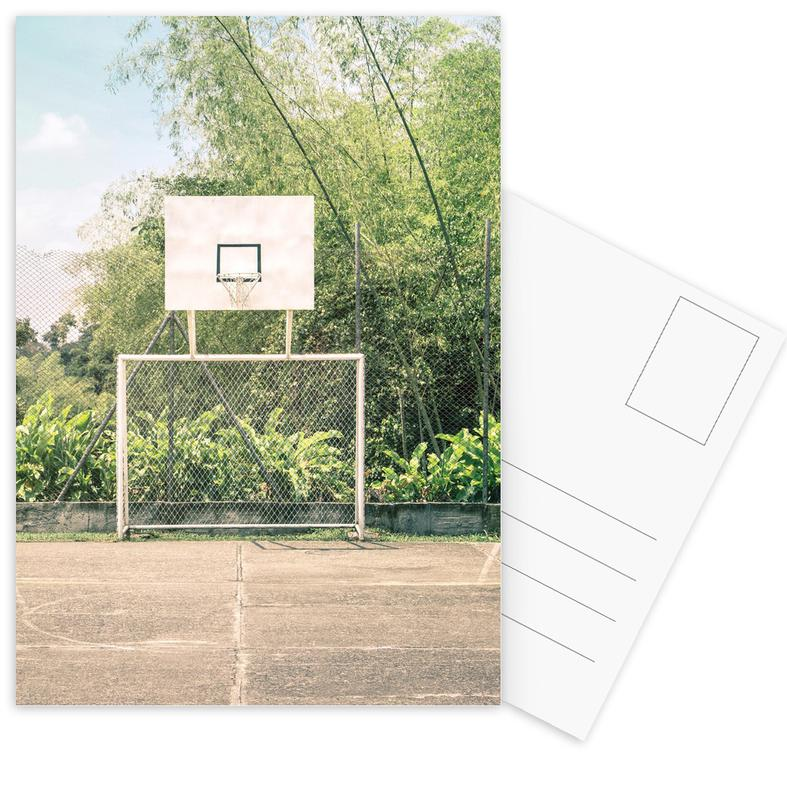 Streetball Courts 2 Manizales Colombia cartes postales
