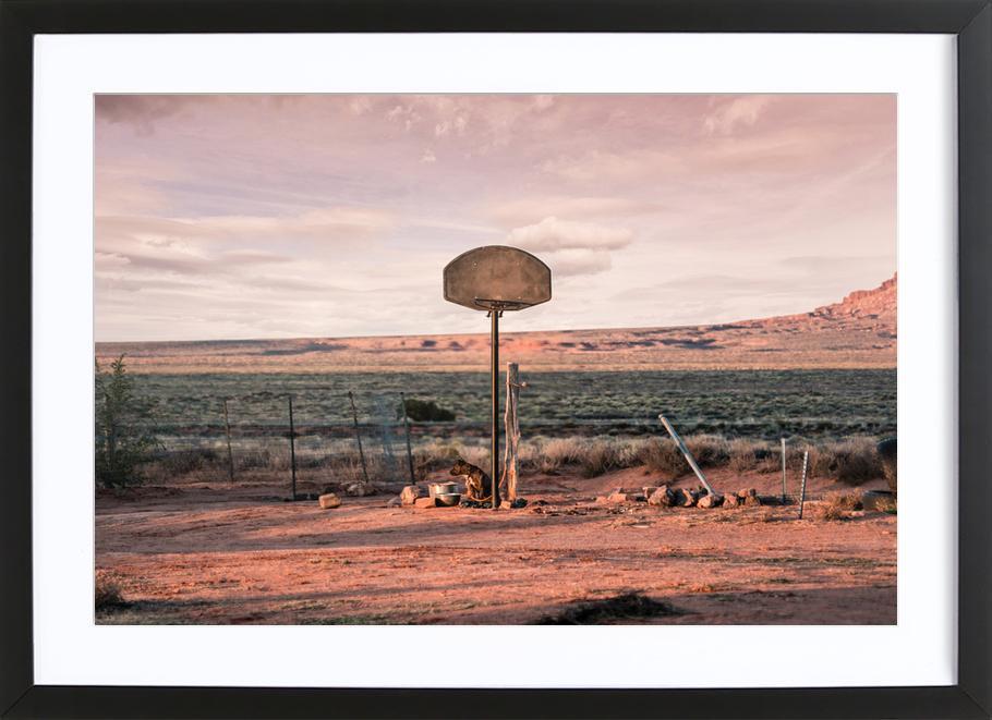 Streetball Courts 2 Utah USA Framed Print