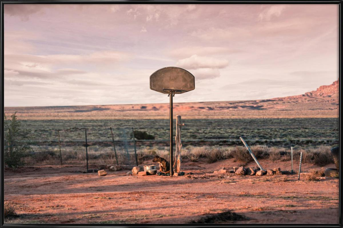 Streetball Courts 2 Utah USA Framed Poster