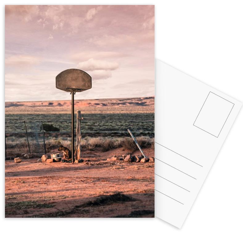 Streetball Courts 2 Utah USA Postcard Set