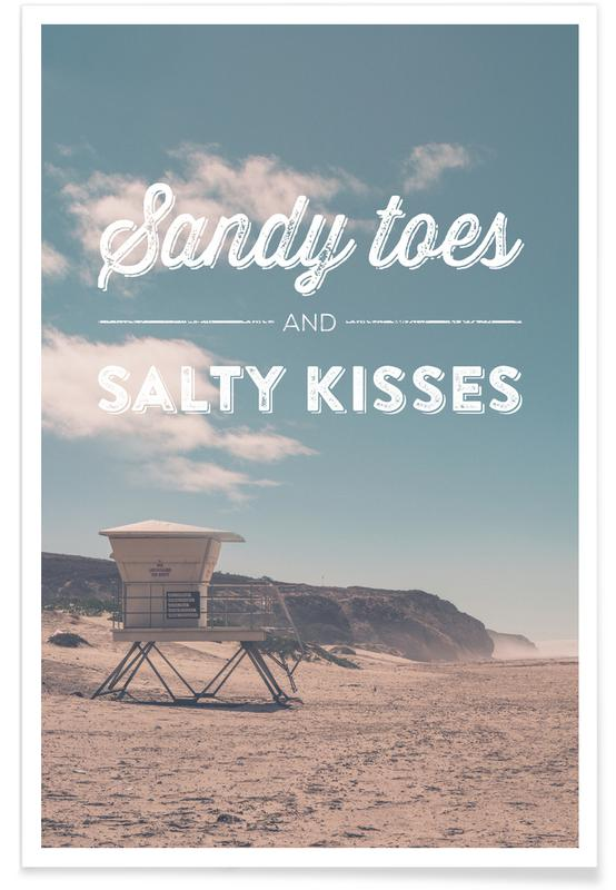 Plages, Sandy Toes and Salty Kisses affiche