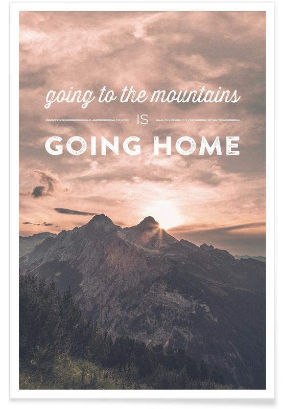 Montagnes, Going to the Mountains is Going Home affiche