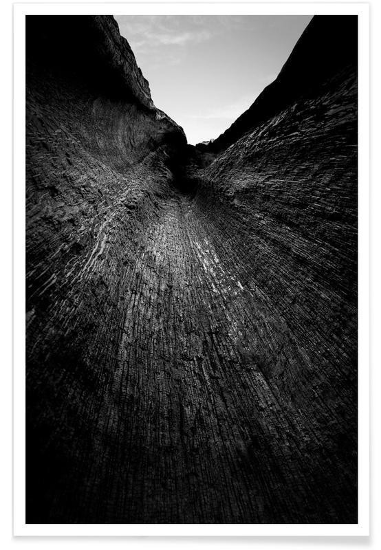 Træer, Sort & hvidt, Sequoia Tree - Landscapes Raw 21 Plakat