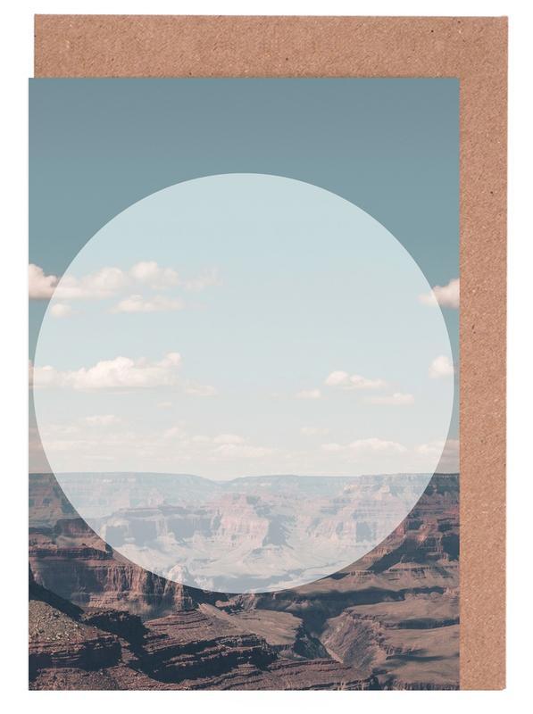 Grand Canyon Circular -Grußkarten-Set