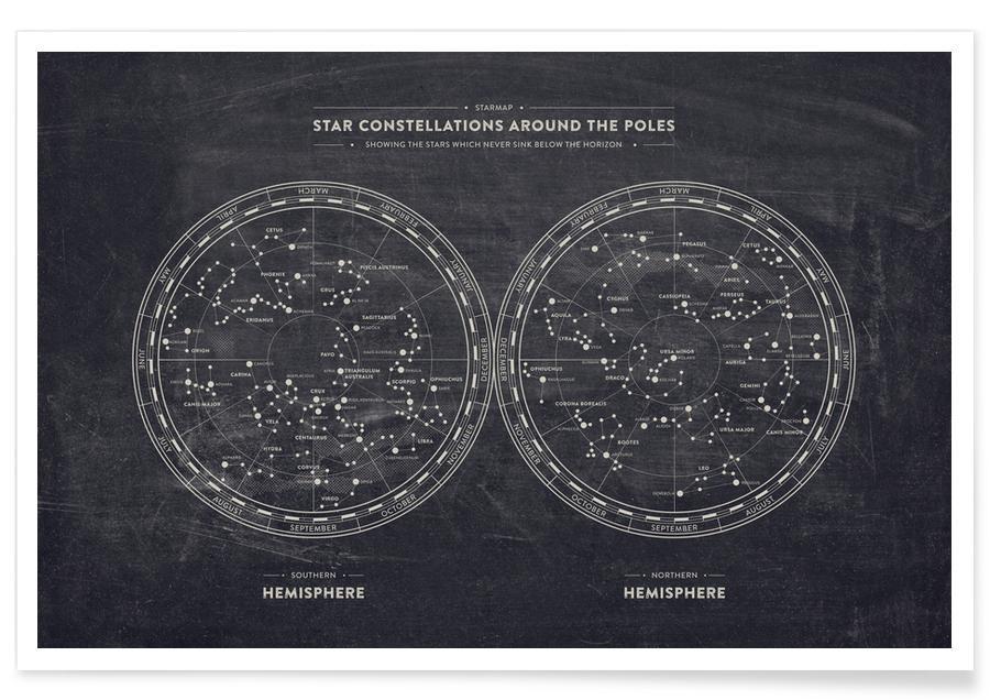Starmap Poster