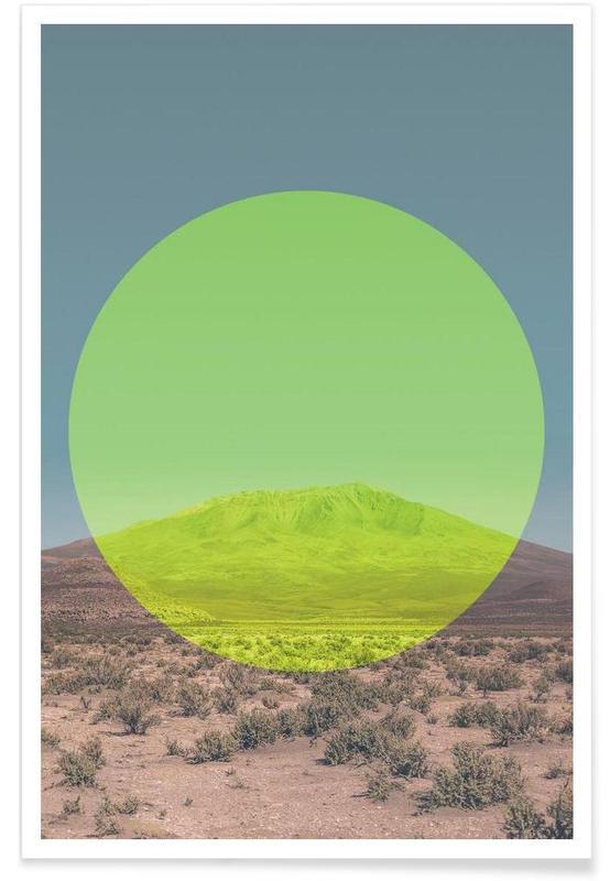 Paysages abstraits, Salar de Uyuni - Photographie affiche