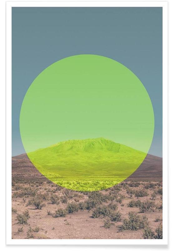 Abstracte landschappen, Salar de Uyuni - foto poster