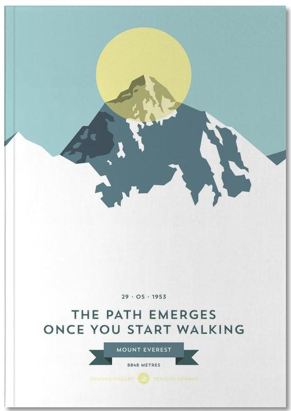 Mount Everest Yellow Notebook