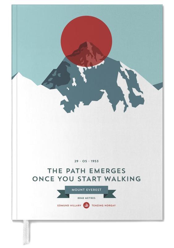 Berge, Mount Everest Red -Terminplaner