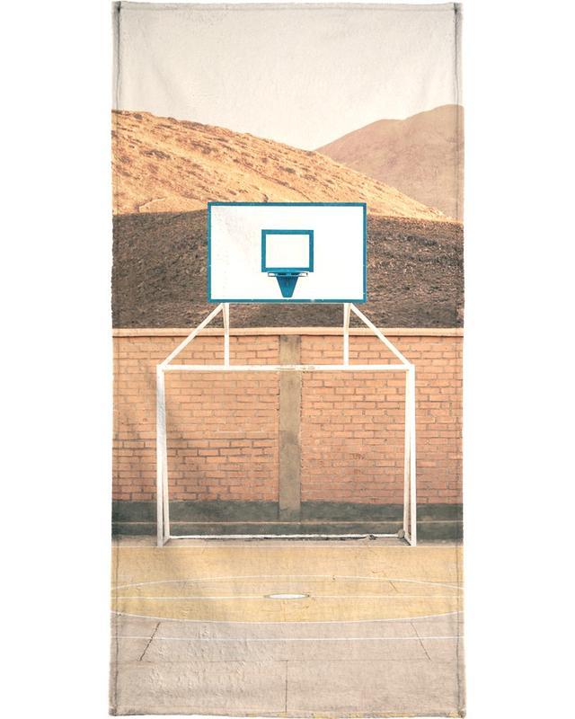 Détails architecturaux, Basket-ball, Potosi, Bolivia serviette de plage