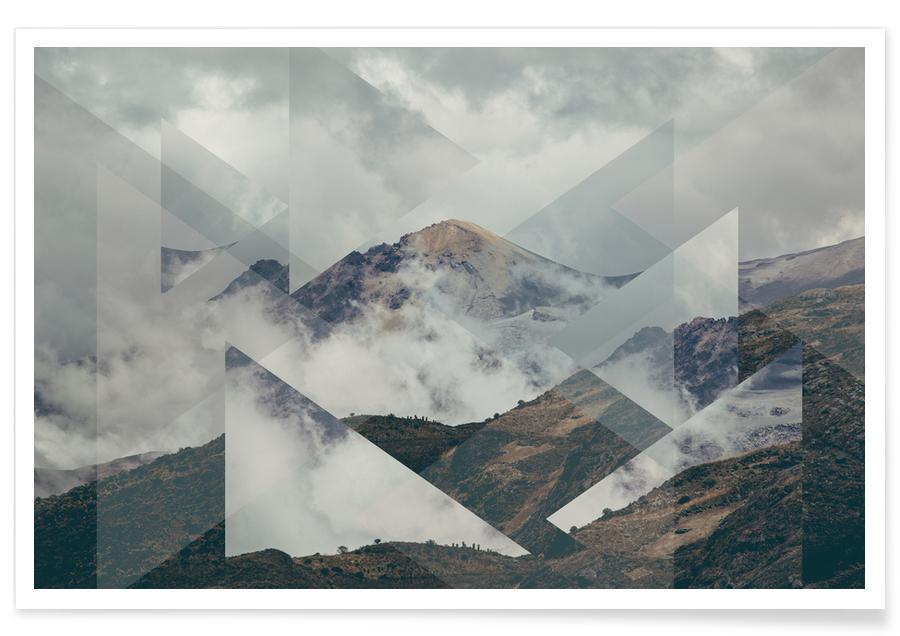 Nevado del Ruiz-Fotografie -Poster