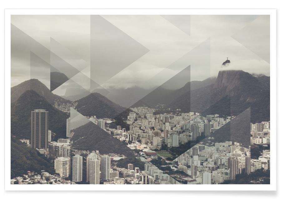 Rio de Janeiro, Scattered 2 Pan De Azucar Poster