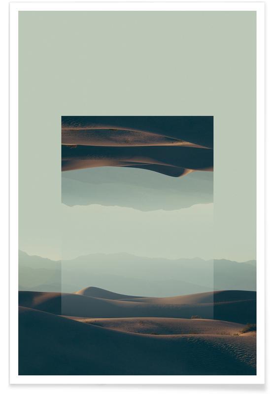 Abstrakte Landschaften, Death Valley-Fotografie -Poster