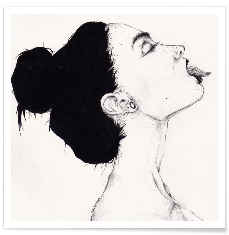 Noir & blanc, Tongue affiche