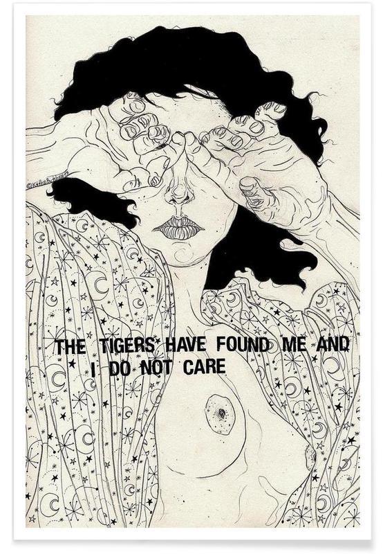 Nude, Hide And Seek Poster