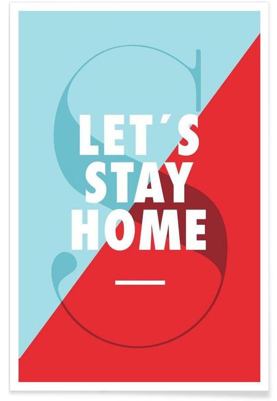 Stay home -Poster