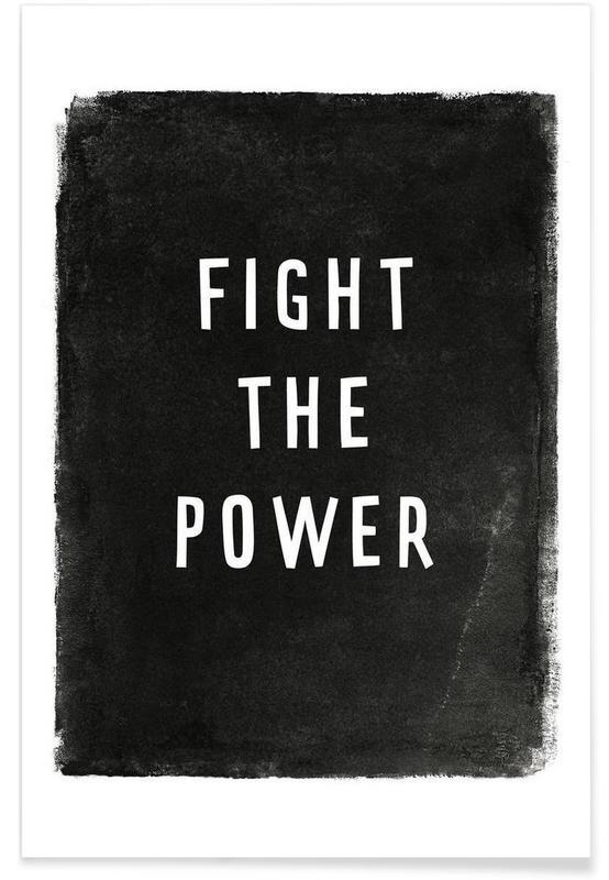 Noir & blanc, Paroles de chansons, Fight the power affiche