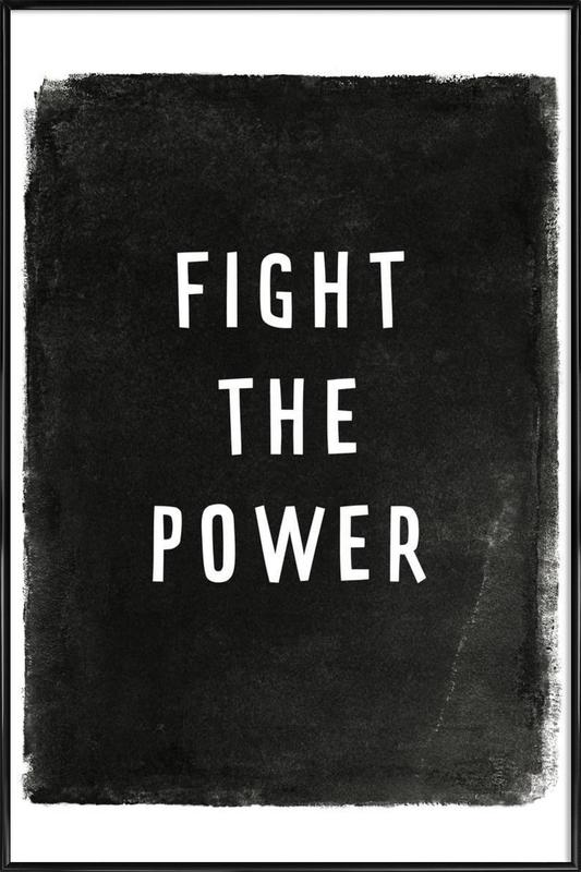 Fight the power Framed Poster
