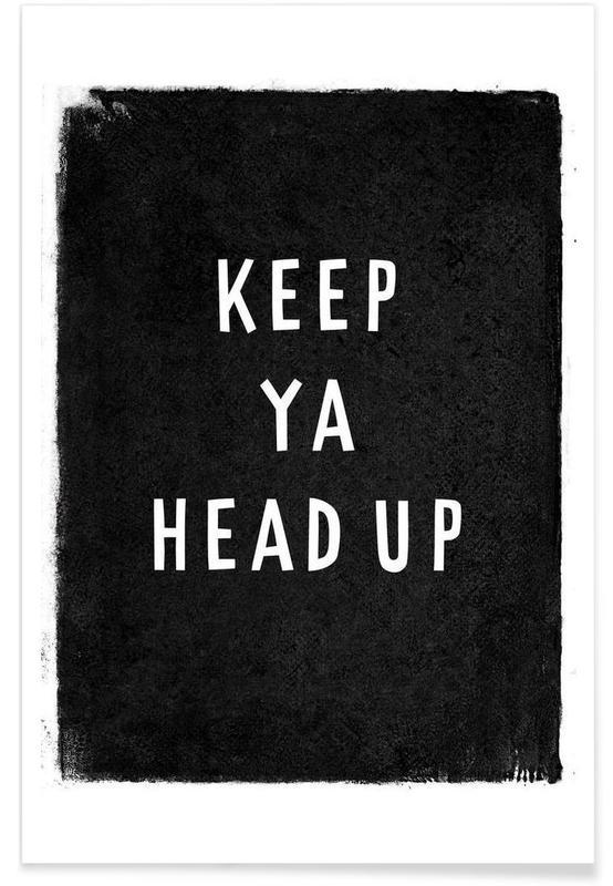 Noir & blanc, Paroles de chansons, Keep ya head up affiche