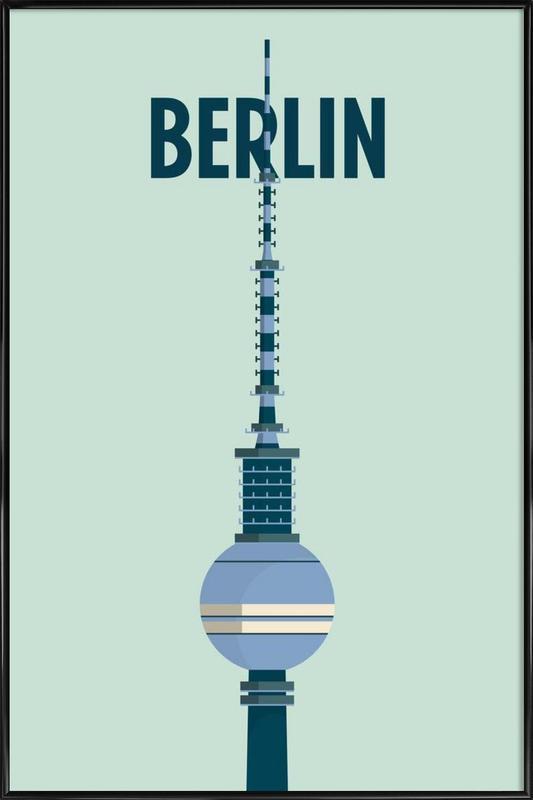 Berlin affiche encadrée
