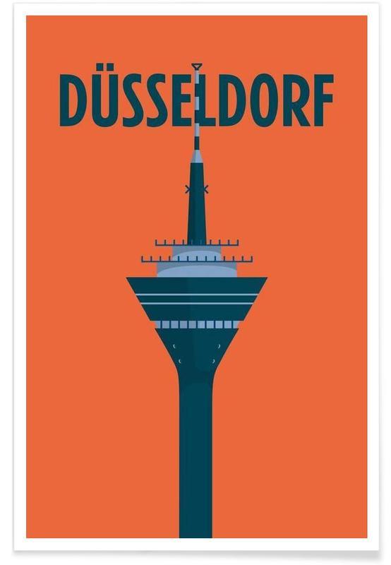 Düsseldorf -Poster