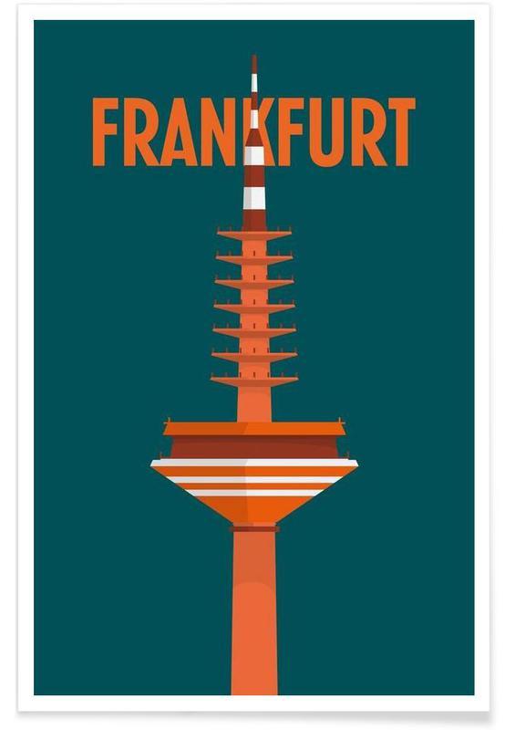 Francfort, Frankfurt affiche