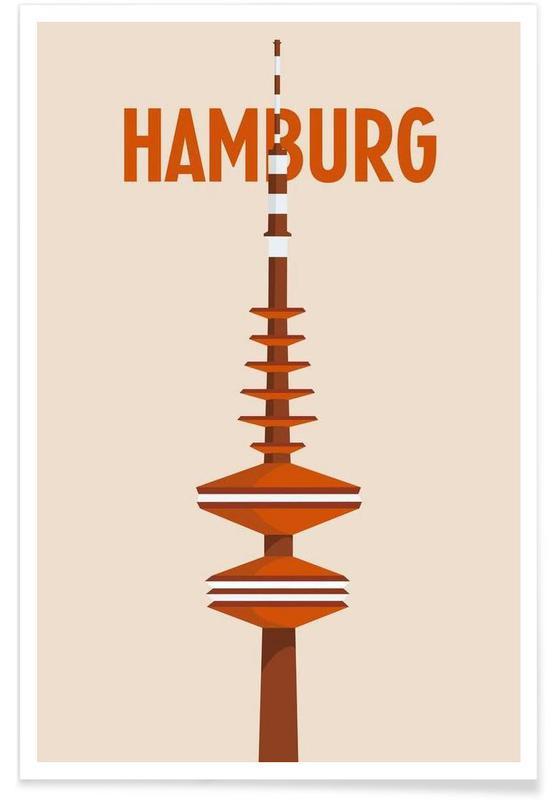 Hambourg, Hamburg affiche