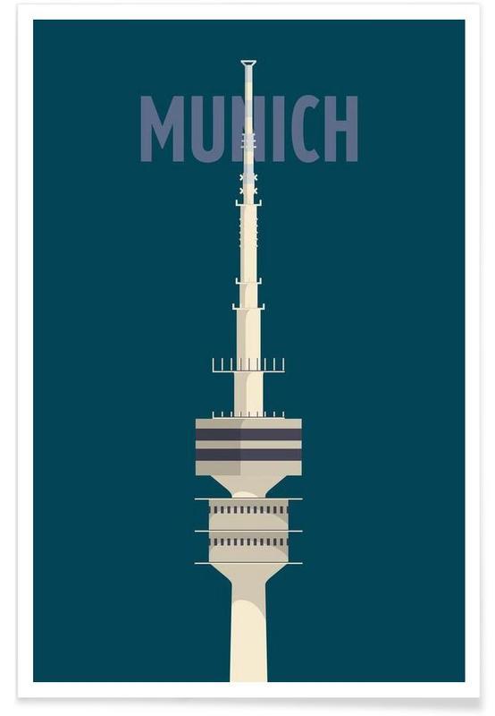 München, Munich poster