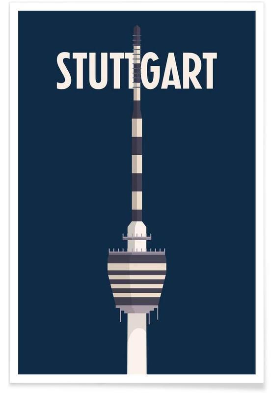 , Stuttgart affiche