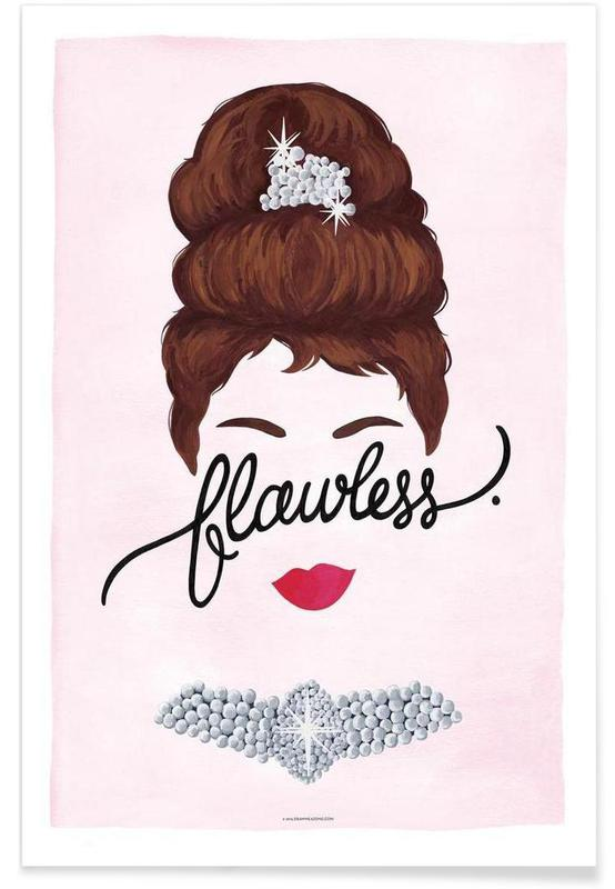 Flawless Audrey poster