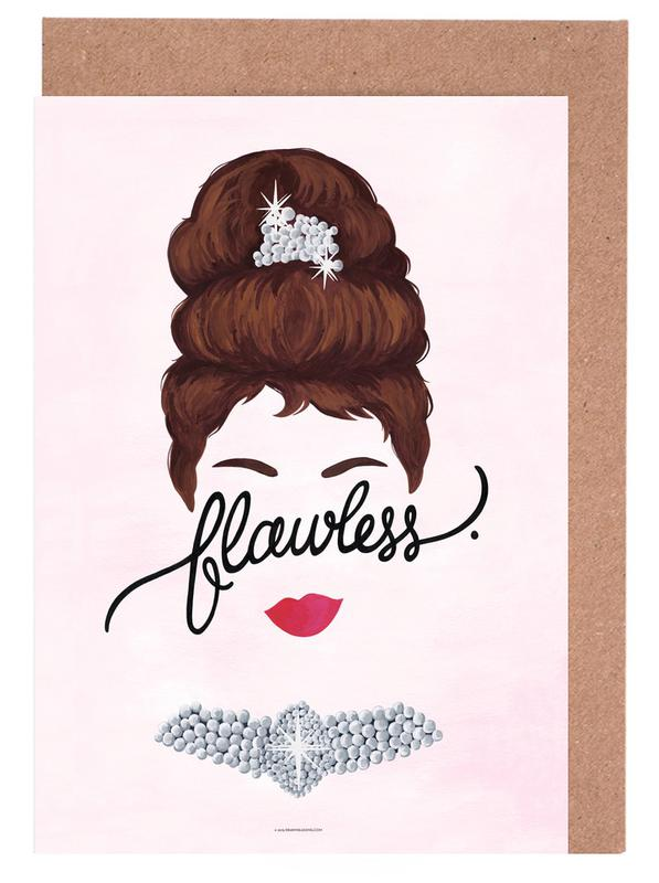 Flawless Audrey Greeting Card Set