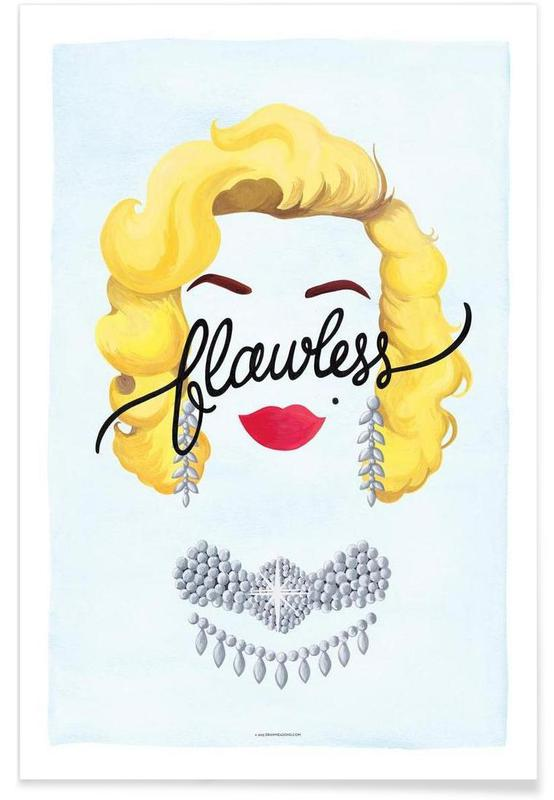 Flawless Marilyn poster