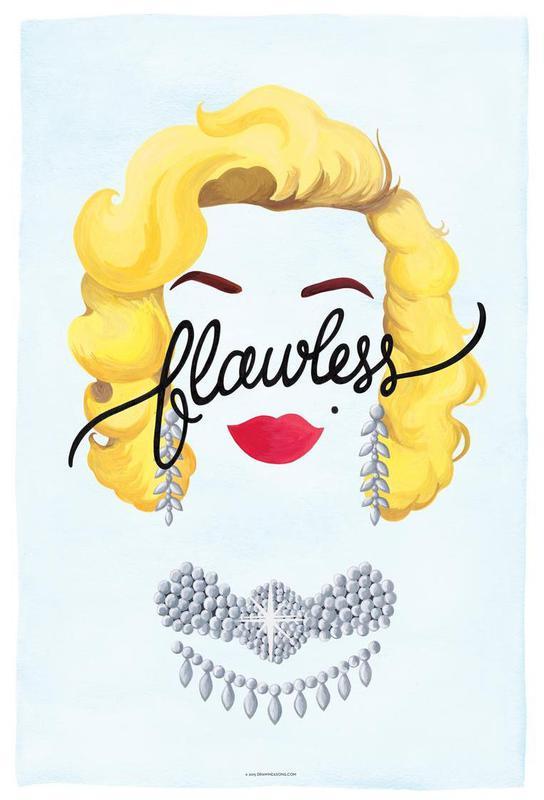 Flawless Marilyn Acrylic Print