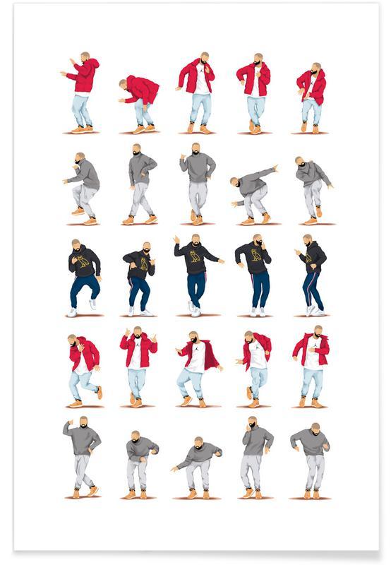 Hotline Bling Dance Plakat
