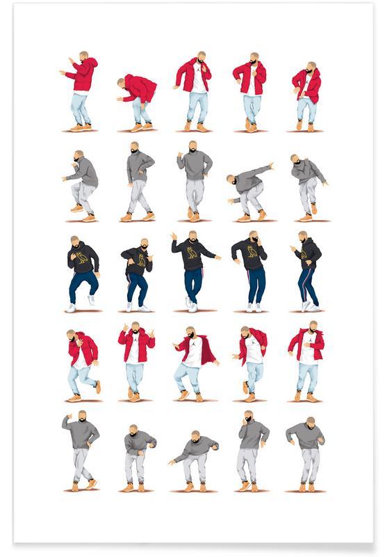 Hotline Bling Dance poster