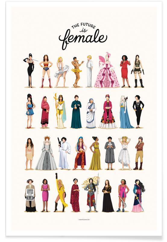 Motiverende, The Future Is Female Plakat