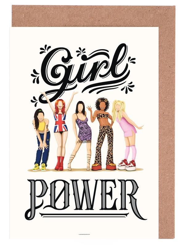 Girl Power Greeting Card Set