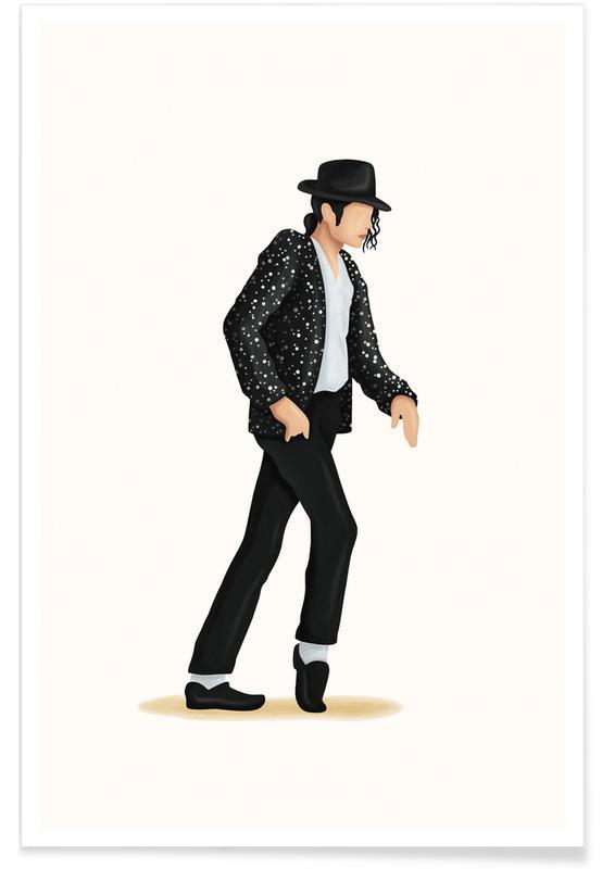Moonwalk dans poster