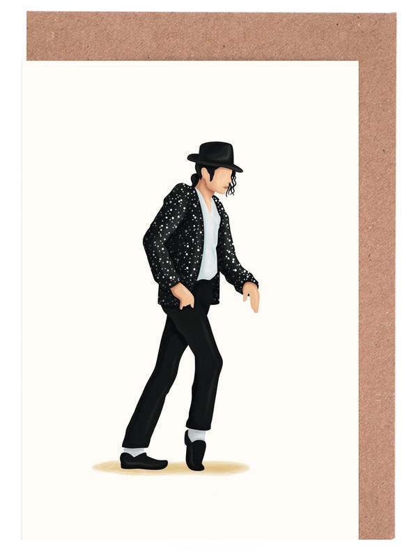Michael Jackson, Moonwalk Greeting Card Set