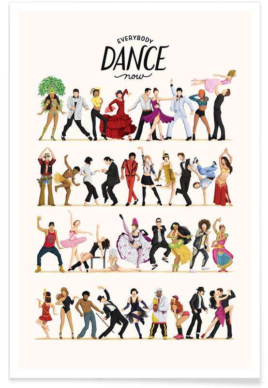 Danse, Everybody Dance Now affiche