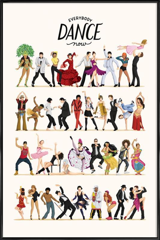 Everybody Dance Now Framed Poster