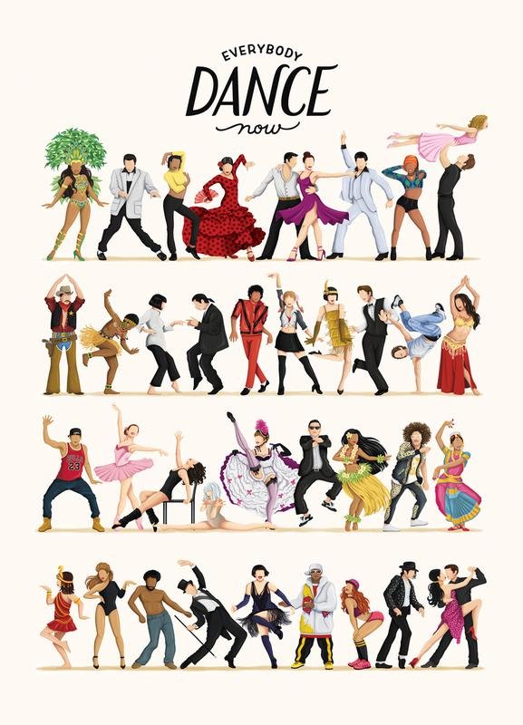 Everybody Dance Now Canvas Print