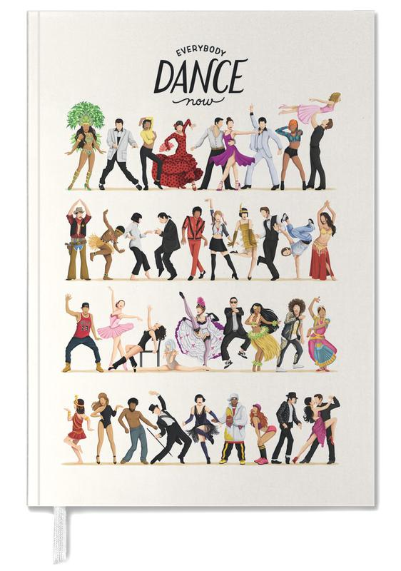 Dance, Everybody Dance Now Personal Planner