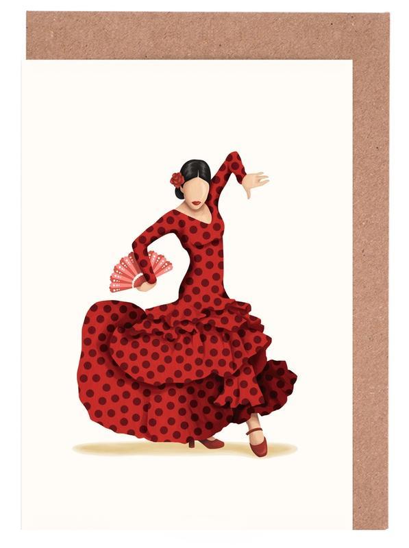 Flamenco Greeting Card Set