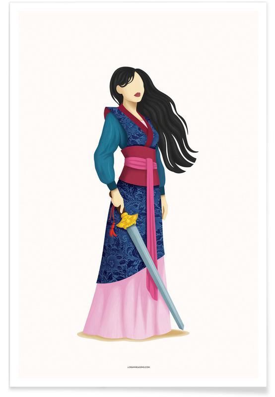 Porträts, Mulan -Poster