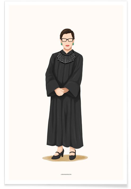 Portraits, Ruth Bader Ginsburg affiche